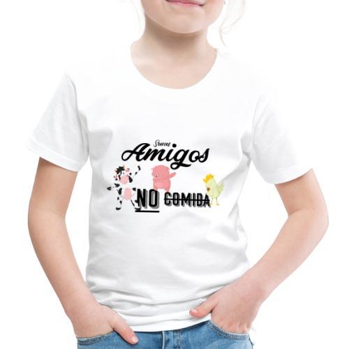 Somos amigos no comida - Camiseta premium niño