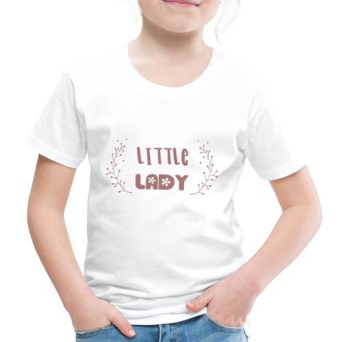 Little Lady flower - Kinder Premium T-Shirt