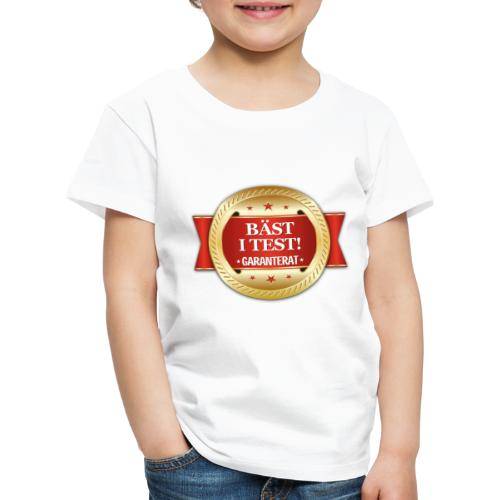 Bäst i test - Garanterat - Premium-T-shirt barn