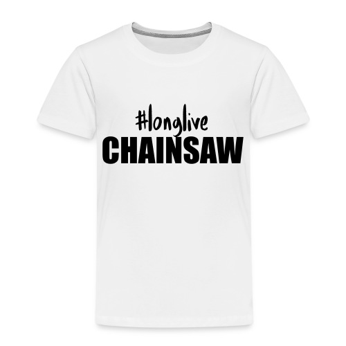 longlive CHAINSAW - Kinder Premium T-Shirt