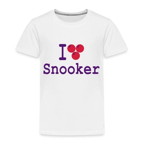 ilovesnooker - Kids' Premium T-Shirt