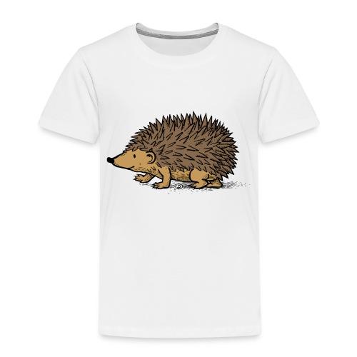 egel illustratie - Kinderen Premium T-shirt