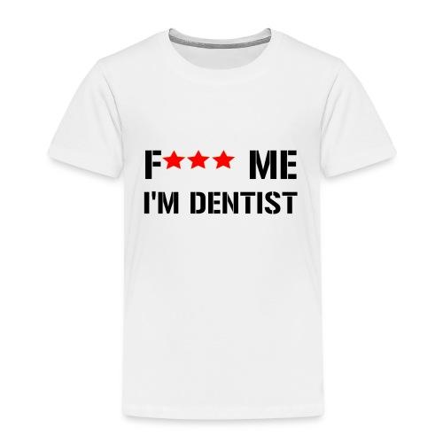 F me noir min png - T-shirt Premium Enfant