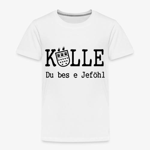 Kölle Do bes e Jeföhl - Köln, Alaaf, Dom VECTOR - Kinder Premium T-Shirt