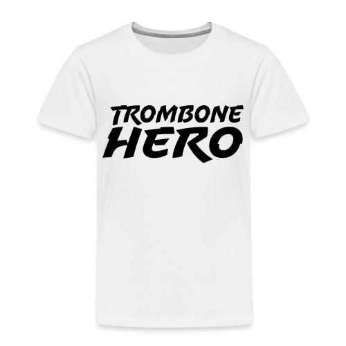 Trombone Hero - Premium T-skjorte for barn