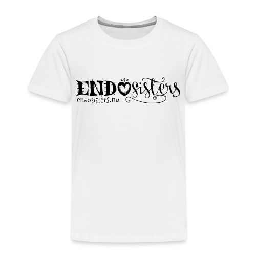 EndoSisters Logo - Premium-T-shirt barn