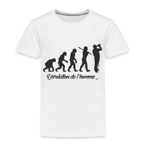 évolution homme (H) - T-shirt Premium Enfant