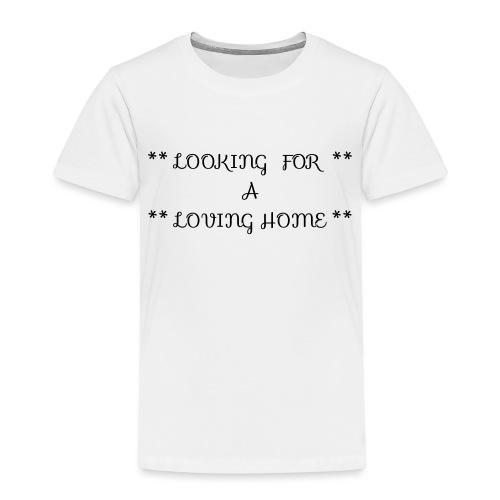 Loving home - Lasten premium t-paita