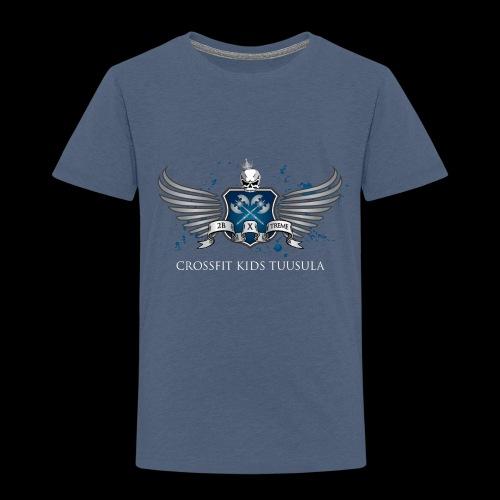 CrossFit kids Tuusula - Lasten premium t-paita