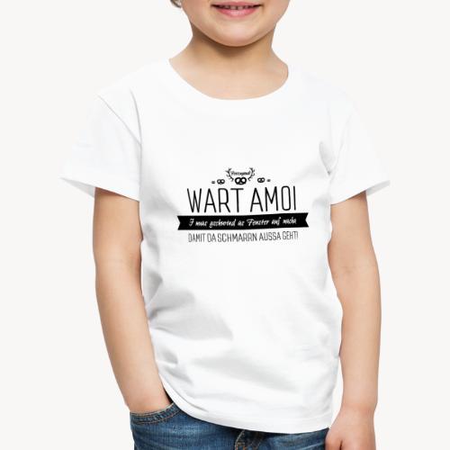 Schmarrn schwarz - Kinder Premium T-Shirt