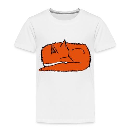 SleepingFox - Kids' Premium T-Shirt