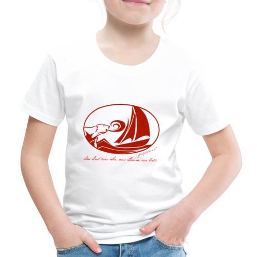 fortgeblasen - Aus Lust zur See - Kinder Premium T-Shirt