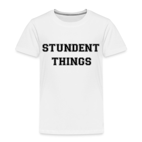 studentthings png - Kinder Premium T-Shirt