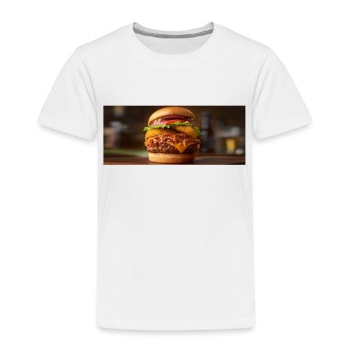 Burger - Børne premium T-shirt
