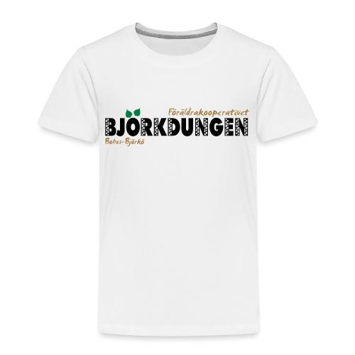 Björkdungen Logo 3-color - Premium-T-shirt barn