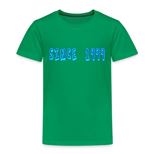 Since 1999 - Lasten premium t-paita