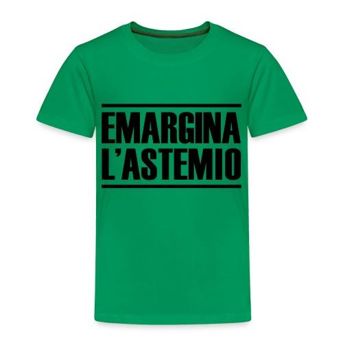 emargina l'astemio - Maglietta Premium per bambini