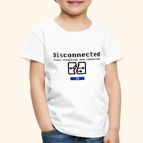 disconnected 01 - Kinderen Premium T-shirt