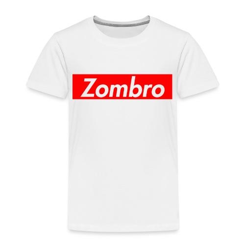 zombreme png - Børne premium T-shirt