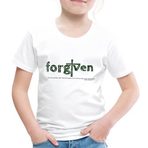 forgiven - Kinder Premium T-Shirt