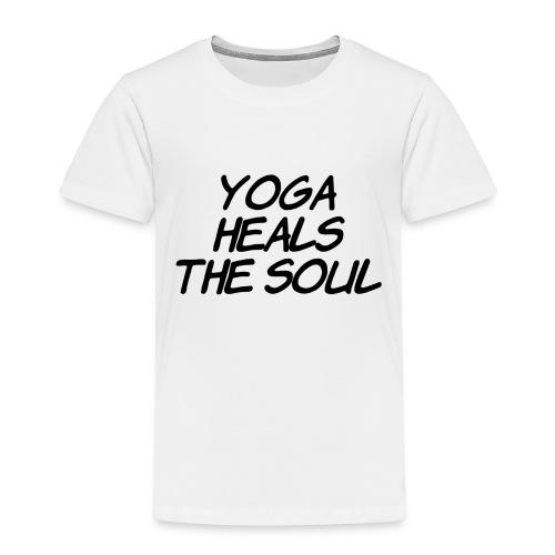 yoga - Kinderen Premium T-shirt
