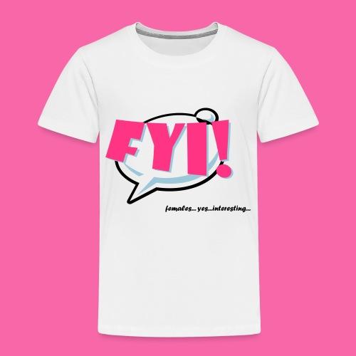 FYI ai - Kids' Premium T-Shirt