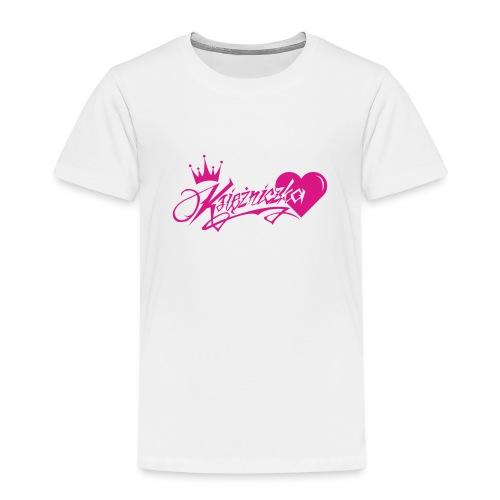 Ksiezniczka - Koszulka dziecięca Premium