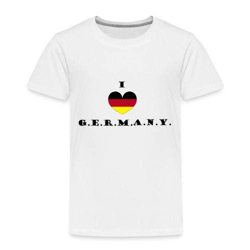 i love germany - Kinder Premium T-Shirt