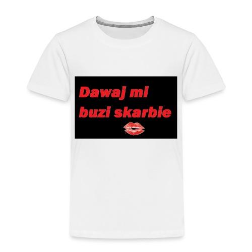 dawaj buzi - Koszulka dziecięca Premium