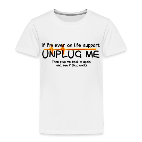 life support - helpdesk to the end - Kids' Premium T-Shirt