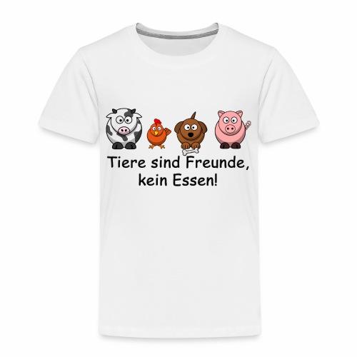 Tiere-sind-Freunde - Kinder Premium T-Shirt