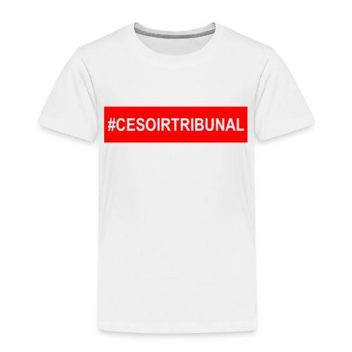 #CeSoirTribunal - T-shirt Premium Enfant