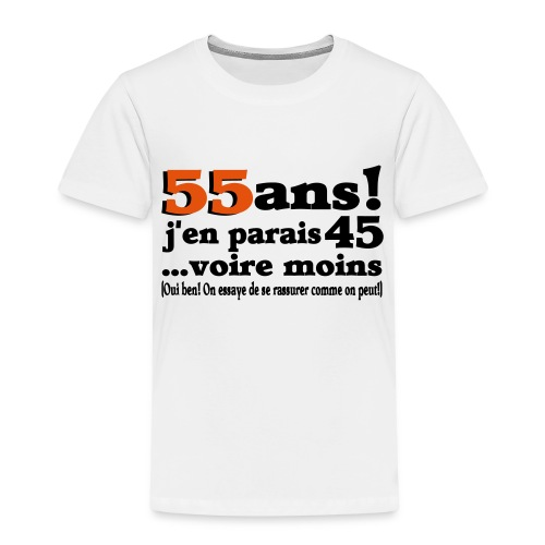 Anniversaire logo motif - T-shirt Premium Enfant