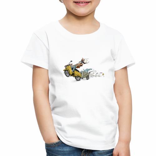 Simson Schwalbe DDR Ostalgie - Kinder Premium T-Shirt