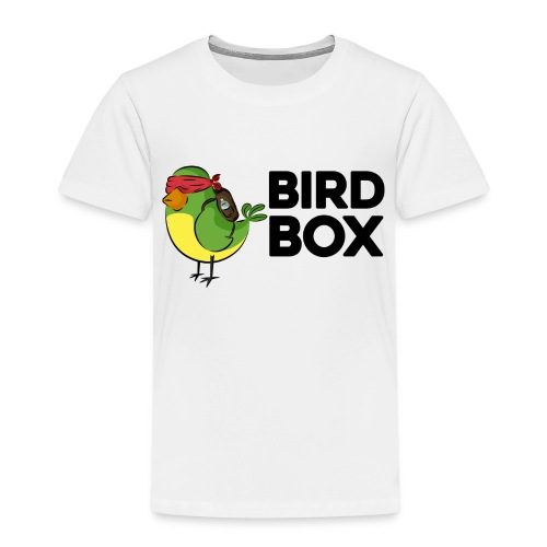 bird box - Camiseta premium niño