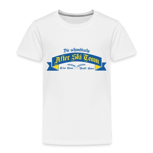 Apré Ski Team Sweden - Premium-T-shirt barn