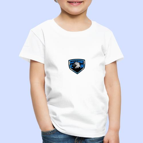 HypeCw logo (Silver) - Kids' Premium T-Shirt