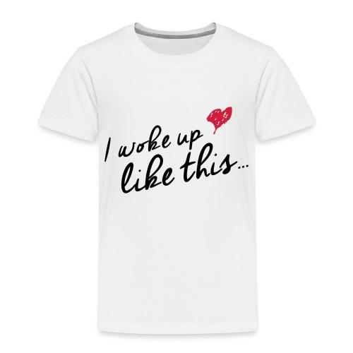 DE Wokeup - Kinder Premium T-Shirt