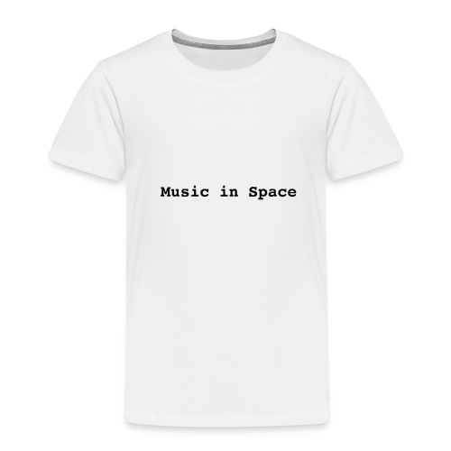 Music In Space - Børne premium T-shirt