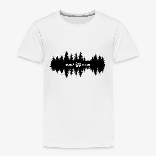 Råneå River reflections - Premium-T-shirt barn