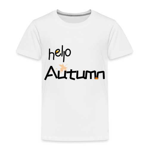 Hello Autumn hallo Herbst - Kinder Premium T-Shirt