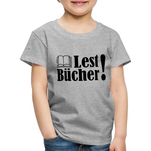 Lest Bücher ! 2 - Kinder Premium T-Shirt