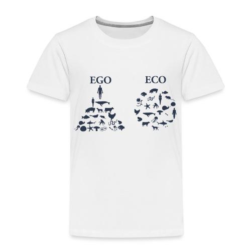 Ego VS Eco - Maglietta Premium per bambini