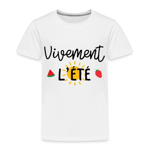 été / vacances / plage / soleil / mer - T-shirt Premium Enfant
