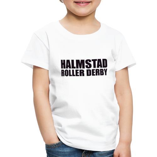 textlogga L - Premium-T-shirt barn