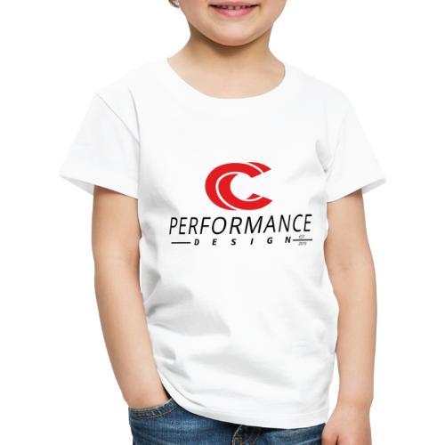 hoch schwarz - Kinder Premium T-Shirt