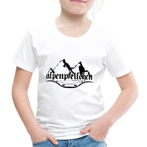 Alpenpfeilchen - Logo - Kinder Premium T-Shirt