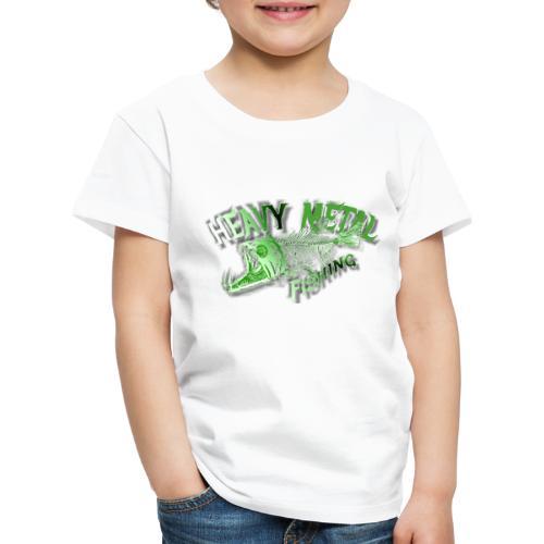 heavy metal alien - Kinder Premium T-Shirt