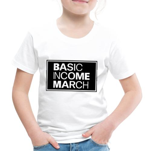 basic income march - Kinderen Premium T-shirt