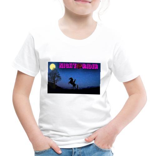 nightrider merch - Børne premium T-shirt